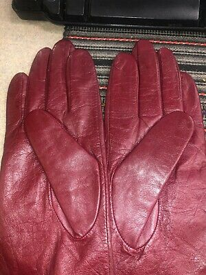 Women's Blue Gloves Wilson Leather Size L New With Tag 5