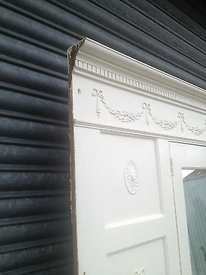 Victorian Fitted Wardrobe Fascade Mirrored Door Matching Fireplace Available 4