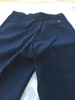 Cintas Comfort Flex Navy Blue Cargo Work Pants Size 37x37  #270-20 Loose Fit