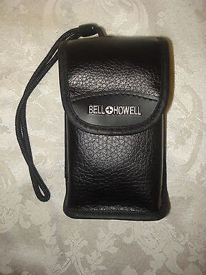 BELL HOWELL PZ2200 35mm FILM  POINT AND SHOOT CAMERA 35-70mm LENS/ LEATHER CASE 12