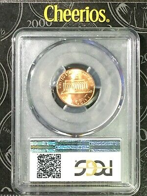 "2000 1C PCGS MS66RD ""Cheerios"" Cent - RicksCafeAmerican.com 8"