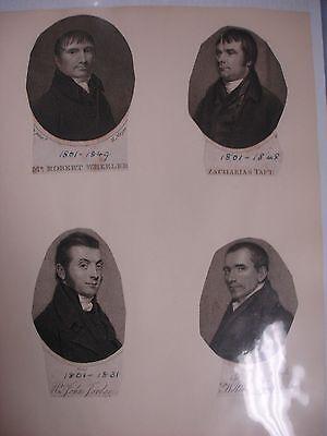 Methodist Portraits Collection - Circa 1800's 6