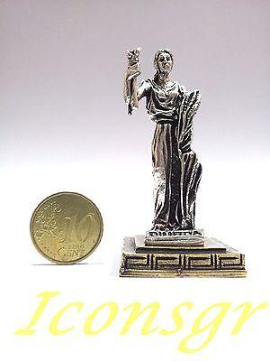 Ancient Greek Miniatures Olympian Gods Pantheon Sculpture Statue Zamac Set 3 pcs 5