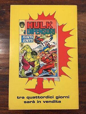 Hulk E I Difensori N. 4 Corno 2