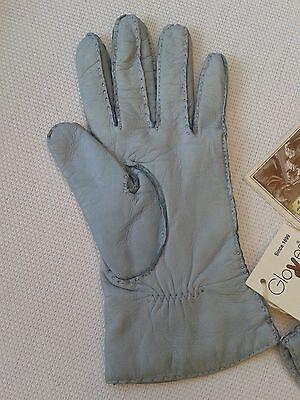 Guanti Donna in pelle col. carta da zucchero tg 6 Gloves Originali Lusso 6