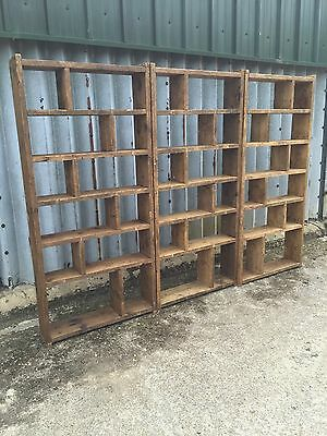 Industrial Up-Cycled Pigeon Hole Shelving Units 2