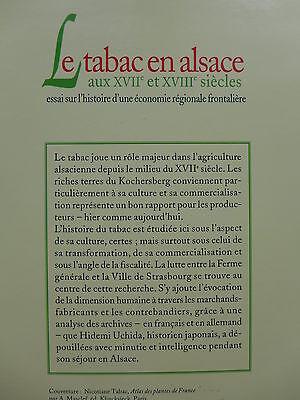 Hidemi Uchida - Le tabac en Alsace aux 17e et 18e Siècles