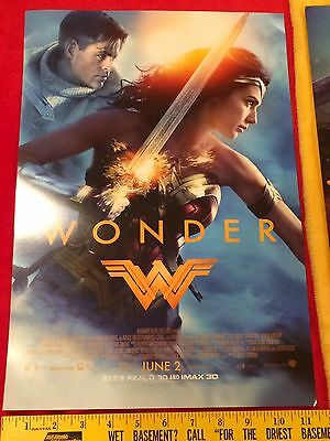Wonder Woman movie posters Gal Gadot lot,Rebirth #1,Batman,Superman, Rare,Bonus 5