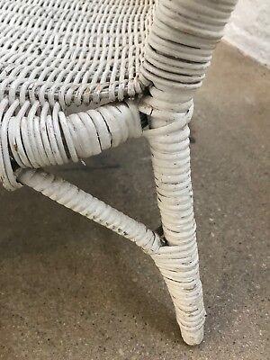 Vintage Children's Wicker White Chair, Good Condition! $150 7