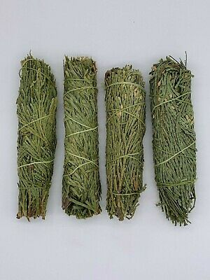 4x Cedar Sage Smudge Sticks / Wands - House Cleansing Negativity Removal 2