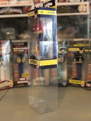 10 Pack Funko Pop! PEZ 0.50mm Plastic Protector Case Fits All New Funkos PEZ CIB 2