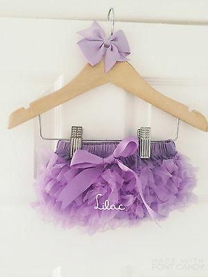 Deluxe Girls Baby Frilly Tutu Knickers Cake Smash Photoshoot 1st Birthday Outfit 7
