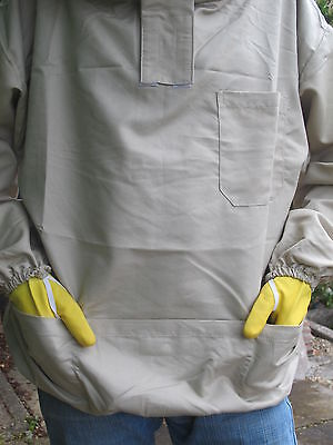 PREMIUM QUALITY Bee Smock, Fencing Veil Style - Olive. All Sizes 4