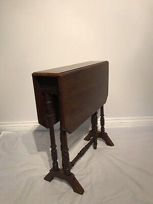 antique Victorian Drop-leaf- Gate-leg Pembroke Table 5