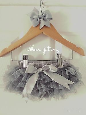 Deluxe Girls Baby Frilly Tutu Knickers Cake Smash Photoshoot 1st Birthday Outfit 3