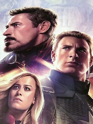 *Ultra Rare* Avengers End Game | original DS one sheet movie poster 27x40 IMAX 9