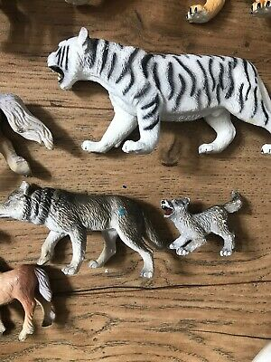 19 x Bullyland Wild Animals Figures Joblot Horses Tigers Lions Wolves Unicorns 6