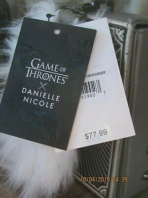 Game Of Thrones Danielle Nicole Stark House Crossbody Purse Winter Is Coming Hbo 9