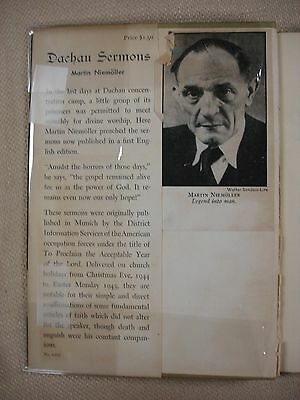 Dachau Sermons - 1946 - Inscribed -WVB-9 2