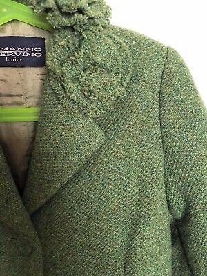 Ermanno Scervino Junior 3 Bottoni Cappotto Coat 6 Anni 7