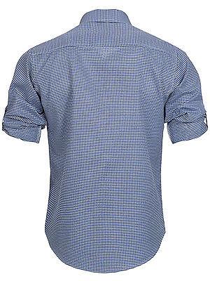 Trachten Set Herren Trachten Lederhose mit Tracht Träger Hemd Tasche Oktoberfest 7