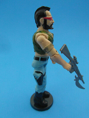 50 x GI JOE ACTION FIGURE DISPLAY STANDS FOR VINTAGE FIGURES CLEAR T6c