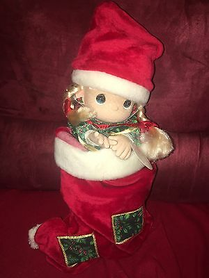 Precious Moments Dolls & Bears Fast Deliver Precious Moments Christmas Carol 1091 New
