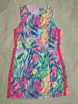 aaa5f04e ... Lilly Pulitzer MILA Multi Sparkling Sands SHIFT DRESS Size 6