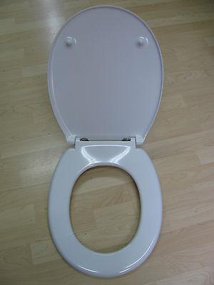 WC-Sitz Toilettendeckel Sanibel 1001 weiß mit Edelstahlbefestigungen