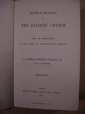 Lectures on the History of The Eastern Church - 1864 - FBHP-3 2