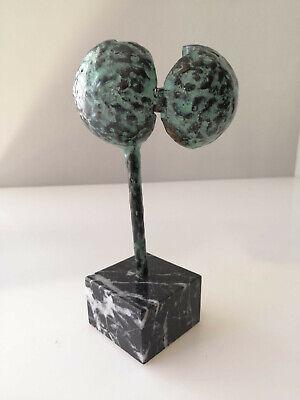 Escultura premio 1 Festival de Cine y TV de Santander en bronce por Jose Luis Fe 8