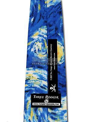 Starry Night Ties Van Gogh Necktie Mens Art Neck Tie Brand New