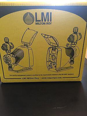 Brand New in Sealed box- LMI Milton Roy Dosing Pump- Model # AD911-910SI 3