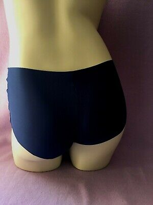 Ex Store PINK/BLACK/BLUE lightweight shorts briefs knickers, quality NVPL 11