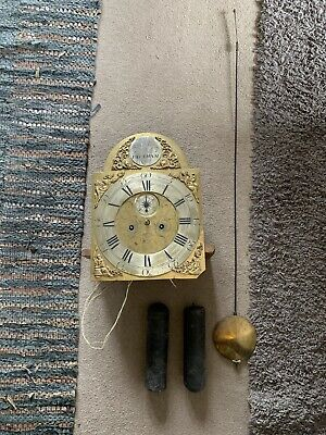 Longcase Clock Early 19th Century 7