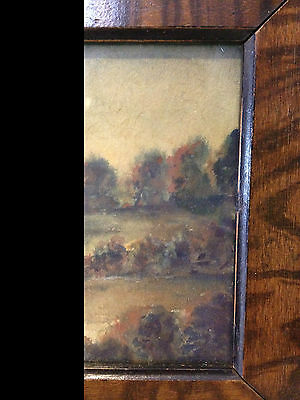 Antique Early 20th Century Signed / Monogrammed Watercolor Landscape Painting 5