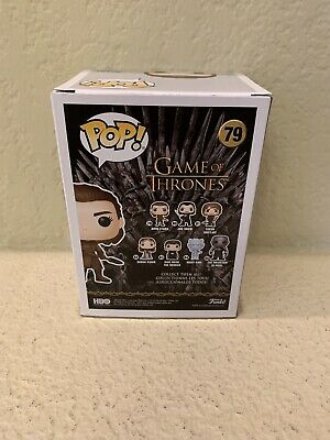FUNKO POP! ARYA STARK #79 - GAME OF THRONES BATTLE OF WINTERFELL In Hand New 3