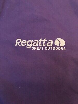 Regatta Hydrafort Purple Hooded Waterproof Coat Age 3-4 Years 4