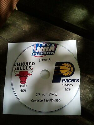 NBA Playoffs 1998 DVD Michael Jordan Bulls vs Pacers 3