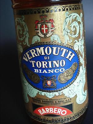 Bottiglia Collezione Vino Vermouth Bianco Torino Giorgio Barbero E Figli Piena