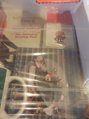 Norman Rockwell Saturday Evening Post 2002 Gift Set Brand New Old Stock