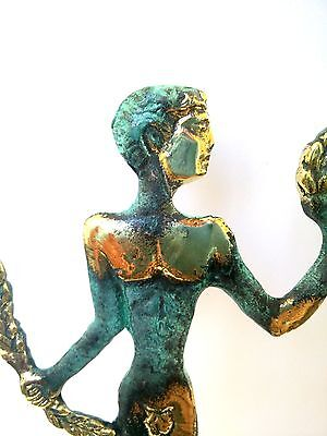 Ancient Greek Bronze Museum Statue Replica Of Olympic Games Winner Collectable 7