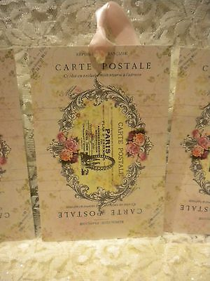 Large Gift Tags  Shabby Chic Vintage French / Paris (4)