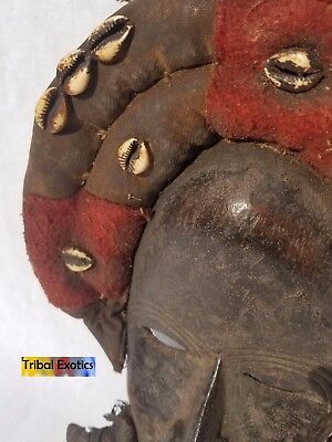 EXTRAVAGANT Dan Gioh Ceremonial Mask Figure Sculpture Statue Fine African Art 6
