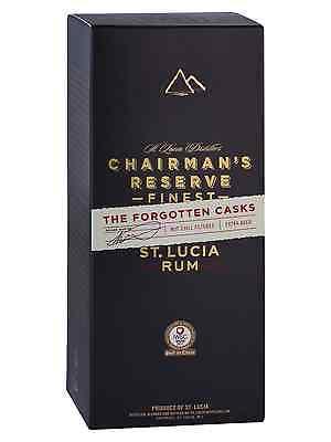 Chairmans Reserve The Forgotten Casks Rum 700mL bottle Dark Rum West Indies 3
