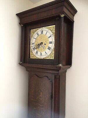 Antique Grandfather Clock Rare Original 1780! Wills And Wilks RARE 8