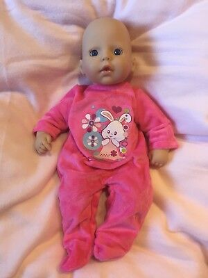 My First Baby Annabell Clothes Sleepsuits Rompers 7