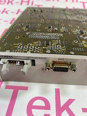 """Siemens simadyn 6DD1600-0AG0  Processor Module  6DD16000AG0 """"overnight shipping"""" 4"""