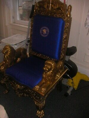 Royal/Religious Gold Throne For Staging, Sets, Photo Shoots, Etc. 2