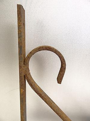 Vintage Steel Corner Bracket Plant Hanger Hook Decorative Architectural Hardware 11